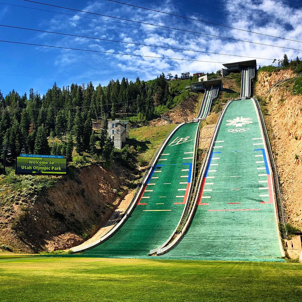Skihopbakken i Utah Olympic Park